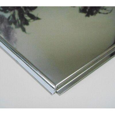 Стельова плита Tegular 600х600 Супер хром (н/ж полірована)