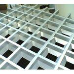 Грильято пирамидальная яч. 100 RAL 9003/9005/9006