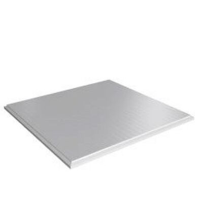 Стельова плита Tegular 600х600 Zn RAL 9003 біла