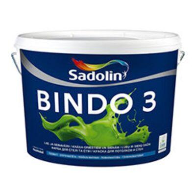 Sadolin Глубокоматовая фарба для стелі та стін Фарба BINDO 3 PROF біла 20 л