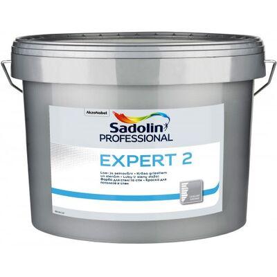 Sadolin Глубокоматовая латексная краска для внутренних работ Краска EXPERT 2 белая 10 л