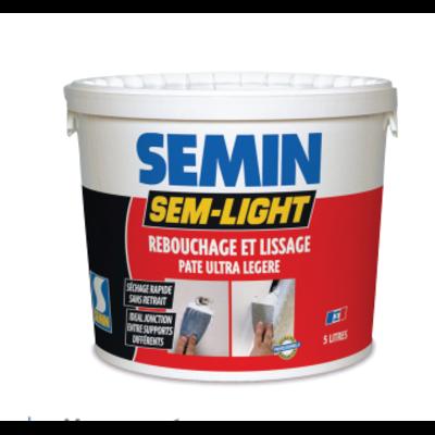 Шпаклевка для трещин универсальная SEMIN SEM LIGHT, 5л