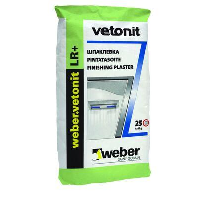 Шпаклевка Vetonit LR + финишная, мешок 20кг