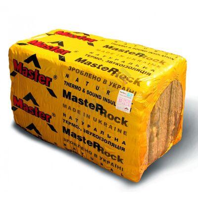 MASTER-ROСK 80 Минераловатна плита  50 мм В с(10 шт), (1000ммХ600мм), 6м.кв.
