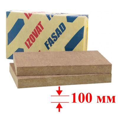 Мін. вата IZOVAT FASAD (100-125, 1000х 600х100 - 2 шт.) уп.1,2м2